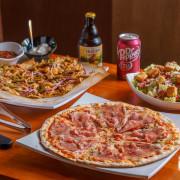 Pizza Rock 大里店|台中披薩推薦!超過20款的披薩口味,價位親民用料實在,下午時段不休息(可外送/外帶)