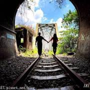 【苗栗。三義】舊山線鐵道秘境。最美七號隧道。彷彿走進日系動漫電影場景