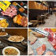[高雄韓式烤肉] 豬對有韓式烤肉吃到飽- 299起火烤兩吃/ 還可以吃得到春川炒雞韓式炸雞/ 高雄吃到飽推薦/ 高雄便宜吃到飽