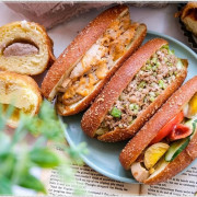 台中少見脆皮甜甜圈,胖嘟嘟包餡甜甜圈、營養三明治,多達12種口味,通通只要銅板價!!!