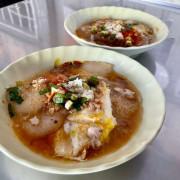 大灣三王廟肉粿|來大灣品嚐台南人的道地早餐 /台南永康肉粿