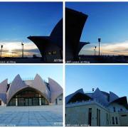 【台中。大安】大安媽祖文化園區。觀星平台。屋頂蓮花造型(目前還有工程未完工)