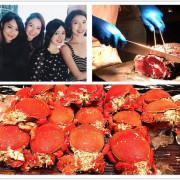 中山站 晶華酒店柏麗廳 CP值高海鮮生蠔螃蟹吃到飽餐廳 聚餐約會好地點