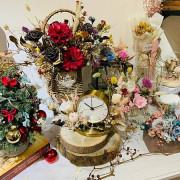 【新北 板橋】冬日向輕食坊//鄰近新北耶誕城 結合乾燥花花藝課程 閨密聊天聚餐好選擇