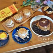雲林虎尾舒芙蕾 王子神谷日式厚鬆餅虎尾店。熔岩起司塔 舒芙蕾 泡芙 半熟乳酪蛋糕