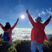 【飛與行的記憶】國內︱南投:合歡山主峰.在3417公尺的高處呼吸