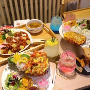 丸飯食事處:在台南也能吃到沖繩蝦蝦飯啦!!! 不用花機票錢飛沖繩,來台南就能吃的到~ 還有炸豬排.唐揚雞.韓式烤肉料理.讓你一次品嘗多國美味組合/新菜上市-海綿寶寶的大鳳梨 - 進食的巨鼠