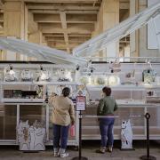 台中文青一日遊|鐵鹿大街|貓小姐 Ms.Cat 插畫限定特展,貓咪攻佔台中火車站啦!