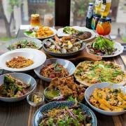 桃園藝文特區美食-帕朵拉義式餐廳,華麗浮誇與美味實在兼備的美食饗宴正在進行中。(邀約)