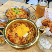懂滋咚吃韓風早午餐,台中一中街韓式料理,一早就能吃50元起韓國輕食/部隊鍋/炸雞/年糕 - Cyndi loves享食天堂