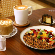 Moon baking二店|o.o.o.o.studio,民生社區韓風咖啡廳,早午餐、咖啡、甜點、下午茶、菜單價位