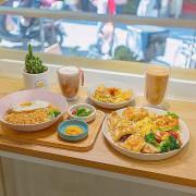 中崙市場內、簡約清新的早午餐,經典台式炒泡麵必嚐 | 【台北 松山區】晨沐 Morning Mood