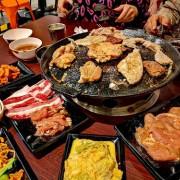 多種韓式料理、辣炒年糕、小菜、韓式燒肉吃到飽、人參雞湯『肉鮮生韓式烤肉吃到飽 豐原店』(內含價位.當月壽星優惠