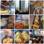 【台北.信義區】世貿101站南山微風。推46樓高空景觀餐廳Saffron46番紅花印度餐廳