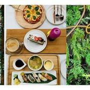 【台北 大直】Denwell Cana 輕餐廳//2021新開幕 森林系戶外輕餐廳 走入秘境藤蔓盪鞦韆 各式異國料理特色飲品