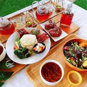   吃。台北   Denwell Cana森林系輕餐廳 大直網美必拍戶外空間餐廳
