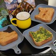 【林口早午餐推薦】早點初發:林口-三明治·菠蘿堡專賣,貓咪厚片吐司可愛又好吃!新鮮薯泥烤土司,口感滑嫩又綿密