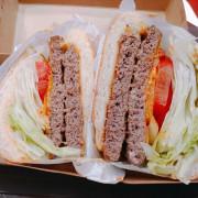 [新光三越信義A11B2美食街美食] #淘客美式漢堡3號餐鬼椒牛肉起司堡XL (兩片牛肉,兩片起司) #淘客美式漢堡信義店
