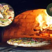 噠啵窯烤披薩   台中披薩推薦。10吋薄皮披薩現點現做,餡料、起司都雙倍的「DOUBLE Pizza」