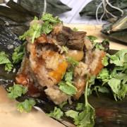 【宅配美食】吃粽子低熱量無負擔「低卡蒟蒻米粽」,台菜小天王『溫國智』主廚親手研製,頂級松露鮑魚粽!