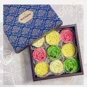 【宅配美食】第9號乳酪蛋糕&奧雷巧克力蛋糕~精緻玫瑰檸檬塔禮盒~高雄伴手禮推薦~團購宅配美食~