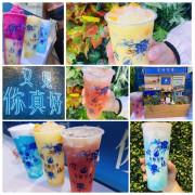 「新竹茶飲」來自台中最美的茶飲推薦/釉色冰淇淋奶蓋系列/水果奶蓋/青花瓷奶蓋/藝術茶飲/網紅打卡牆