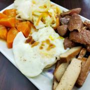 大里塗城路中式早午餐,大推爌肉便當,不只菜色豐富而且份量也不少,價格親切早餐午餐都划算-馮媽深海鮮魚湯