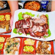 韓劇主角都在吃!台中少見韓式豬腳,道地韓風美味,便當只要$90還附湯飲料!(中場無休息)