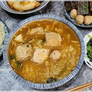 台中少見臭豆腐泡飯,還有客家手工三角餃、Q彈透亮肉餡鮮美,辣不辣任你選!就在大口吃!!