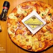 CPK加州創意廚房(信義威秀店) 。薄脆比薩香濃酥脆配料豐富