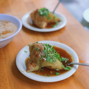 沙淘宮菜粽|以月桃葉清香開啟一日早晨|台南・中西區