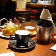 【台北美食】米朗琪咖啡| Melange Cafe,捷運中山站旁的輕奢華麗咖啡館,氣氛超好,內用低銷一杯飲品。(中山站.台北咖啡店.咖啡廳推薦.台北美食推薦)