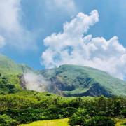 【台北.陽明山】旅行貓日記。陽明山小油坑免費寵物外拍景點。大推雲霧繚繞的山中美景