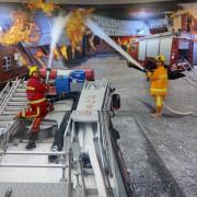 台北旅遊景點 防災科學教育館 免費參觀 預約參觀 體驗消防員噴水 體驗煙霧 體驗地震 學習防災