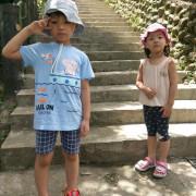 「台北景美親子玩樂」盛夏酷暑下帶著兩小尋找仙人的蹤跡@仙跡岩步道