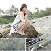 「台東」不可思議!在海邊用海藻麵包餵到超多海魚 ★ 杉原生態海洋公園