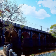 新竹旅遊景點/關西東安古橋、牛欄河親水公園,散心散步走入電影場景的好去處 - Ann‧榜哥‧生活事務所