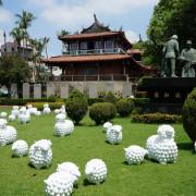 【台南中西區】小綿羊進駐赤崁樓,打卡新熱點。療癒古蹟之旅x赤崁樓周邊美食。