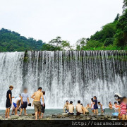 【新竹北埔】北埔冷泉 透心涼消暑氣 大自然水簾瀑布 天然SPA 免門票 新竹一日遊