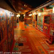 【台中。南屯】夜遊彩虹眷村-Rainbow Village。彩虹藝術公園