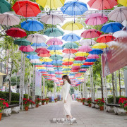 【NEWS】台中文創園區,走在繽紛傘下的迎賓大道