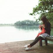 好美麗,宜蘭梅花湖的單車人生