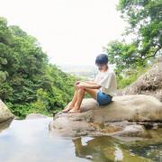 【宜蘭礁溪景點】猴洞坑瀑布,俯瞰蘭陽地區美景,挑戰性0%