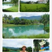 花蓮旅遊-雲山水自然生態農莊 猶如世外仙境般的夢幻湖