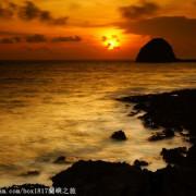 【跳島。蘭嶼】夢幻夕照景點。椰油部落饅頭山(岩)