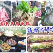 藝術轉角東東蔬食鍋 蔬食火鍋吃到飽/台南吃到飽 氣氛好 有機蔬菜品質佳