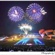 [活動]【台東縣鹿野鄉】2015台東熱氣球嘉年華。光雕音樂會~絢麗煙火秀~鹿野高台展開