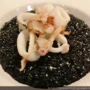 【食記】台北☼松煙  黑米Café•Bistro**黑到發亮墨魚燉飯**