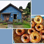 幾米夢幻場景~星空童話小木屋&百年檜木甜甜圈