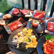《高雄❤️鼓山》碳佐麻里 高美館旗艦店,在兩億豪宅裡吃澎派燒肉🍽